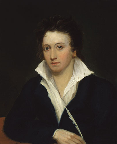Percy Bysshe Shelley by Alfred Clint (fonte wikipedia)
