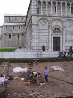 scavi Piazza Miracoli