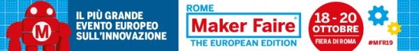L'Università di Pisa al Maker Faire Rome dal 18 al 20 ottobre 2019