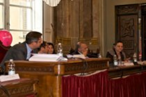 a moment of the conference